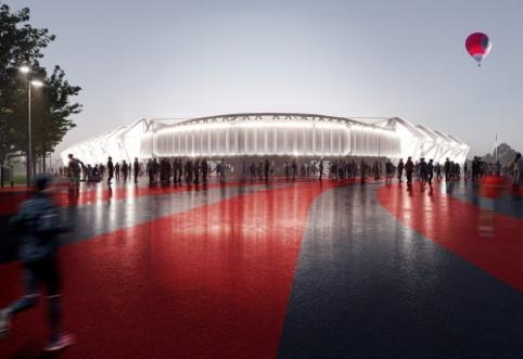 Istorinis sprendimas: Vilniaus taryba pritarė nacionalinio stadiono statyboms