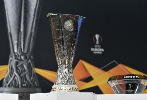 """EL burtai: G. Arlauskio laukia """"Sevilla"""" išbandymas, """"Man Utd"""" ir """"Arsenal"""" susitiks su ČL komandomis"""