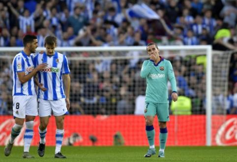 """San Sebastiane – rezultatyvios """"Barcos"""" ir """"Real Sociedad"""" lygiosios"""