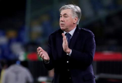 "Oficialu: ""Napoli"" atleido C. Ancelotti"