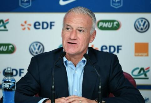 D. Deschampsas pratęsė sutartį su Prancūzijos futbolo federacija