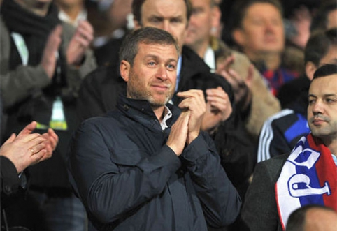 """R.Abramovičius dar sykį atsisakė parduoti """"Chelsea"""""""