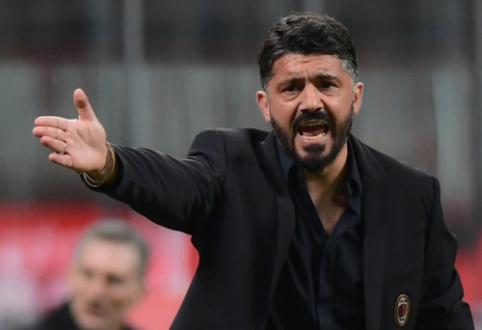 Staigmena: vos po 20 dienų G. Gattuso palieka Florenciją
