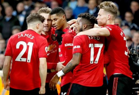"""Mančesterio derbyje – """"Man Utd"""" ekipos triumfas"""