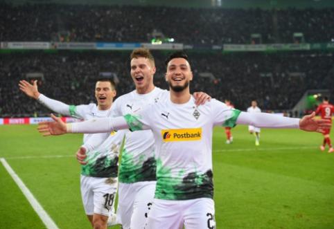 """""""Gladbach"""" mačo pabaigoje palaužė """"Bayern"""", BVB šventė užtikrintą pergalę"""