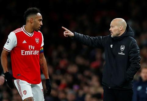 """P.Aubameyangas pasiruošęs palikti """"Arsenal"""""""