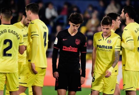"""""""Atletico"""" ir vėl liko be pergalės Ispanijos pirmenybėse"""