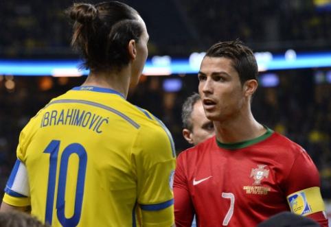 """Z. Ibrahimovičius: """"Tikrasis Ronaldo yra brazilas"""""""