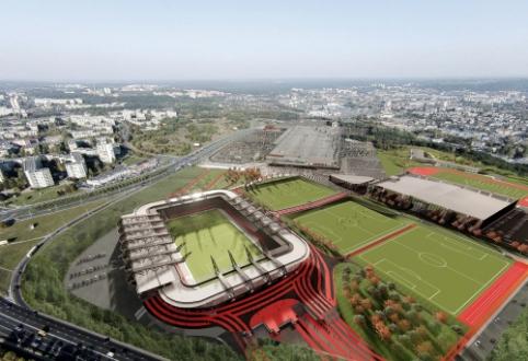 Stebuklas artėja: Vilniaus Tarybos nariai pritarė stadiono statymui