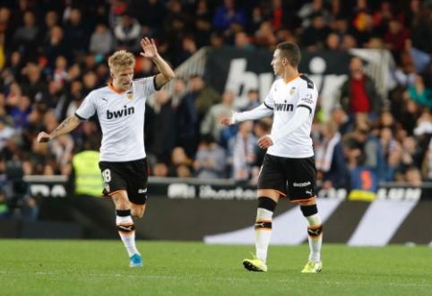 """""""Valencia"""" ir """"Real Sociedad"""" šventė pergales savo stadione"""