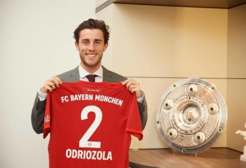 """Oficialu: """"Bayern"""" iki sezono pabaigos pasiskolino """"Real"""" gynėją"""