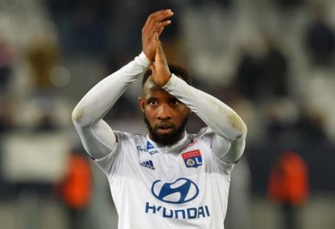 """M. Dembele patvirtino, kad bent iki sezono pabaigos liks """"Lyon"""" gretose"""