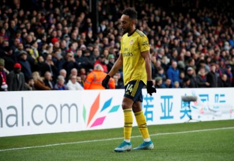"""FA atmetė """"Arsenal"""" apeliaciją dėl P. Aubameyango diskvalifikacijos"""