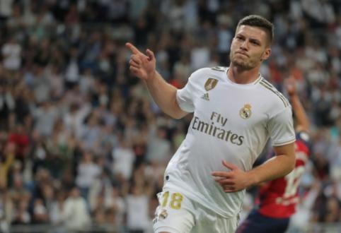 """Z. Zidane'as: """"Jovičius yra komandos ateitis"""""""