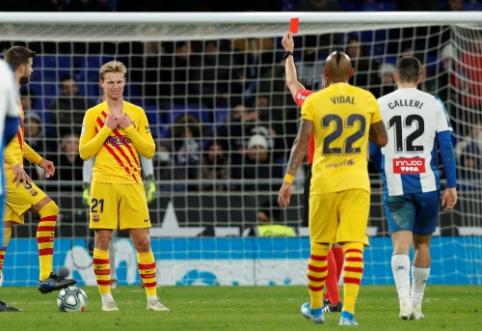 """E. Valverde: """"De Jongo raudona kortelė pridarė problemų"""""""