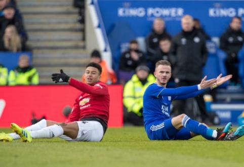 """Sausio 5 d. transferai ir gandai: """"Leicester"""" sulaukė netikėto pasiūlymo iš """"Man Utd"""""""