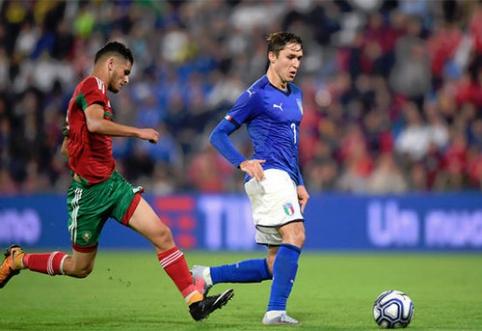 F.Chiesa: Italija – viena iš Europos čempionato favoričių