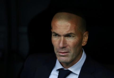 Z. Zidane'as atsisakė komentuoti pranešimus apie P. Pogbą