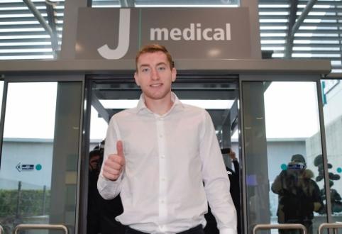 D. Kulusevskis atvyko į Turiną atlikti medicininės apžiūros