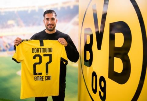"""Oficialu: E. Canas gins """"Borussia"""" komandos garbę"""