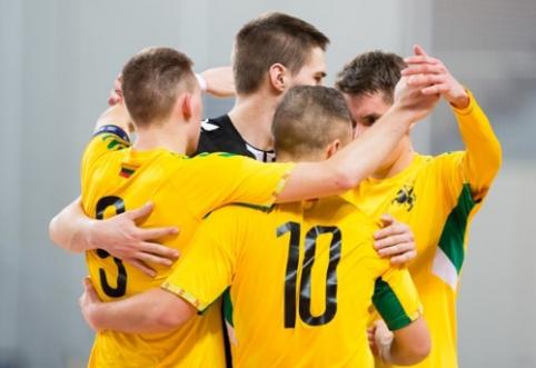 Lietuvos futsalo rinktinė nepaliko šansų Šiaurės Airijai