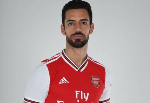 """Oficialu: """"Arsenal"""" sulaukė pastiprinimo gynyboje"""