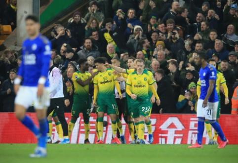 """Į duobę įkritusi """"Leicester"""" ekipa pralaimėjo lygos autsaideriams"""