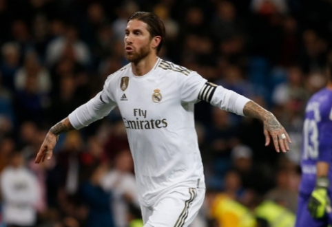 S.Ramosas: tikiuosi, kad sekmadienį nebus L.Messi diena