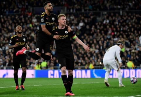 """ČL: """"Real"""" sugriuvo rungtynių pabaigoje, """"Lyon"""" nubaudė """"Juventus"""""""