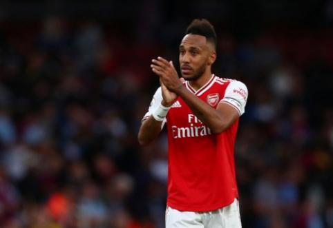 """""""Arsenal"""" ruošiasi parduoti P.Aubameyangą"""
