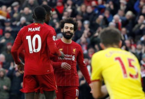"""G. Neville'as apie M. Salah ateitį: """"Liverpool"""" jam yra tik tarpinė karjeros stotelė"""""""