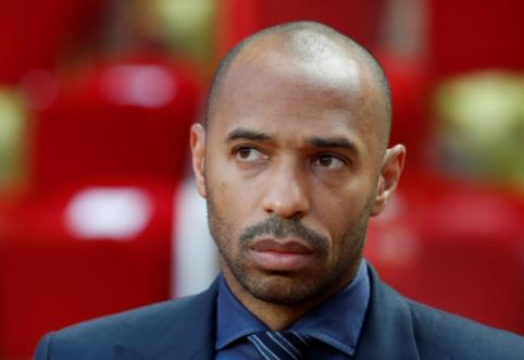 """T.Henry: mano svajonė - pavadovauti """"Arsenal"""""""