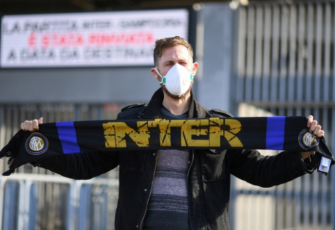 """""""Inter"""" ir """"Ludogorets"""" rungtynės vyks už uždarų durų"""