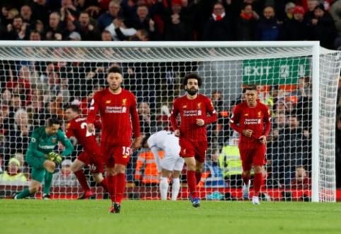 """""""Liverpool"""" turėjo paprakaituoti kovoje su """"West Ham"""""""