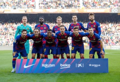 """""""Barcelona"""" žaidėjams Italijoje bus atlikta sveikatos patikra"""