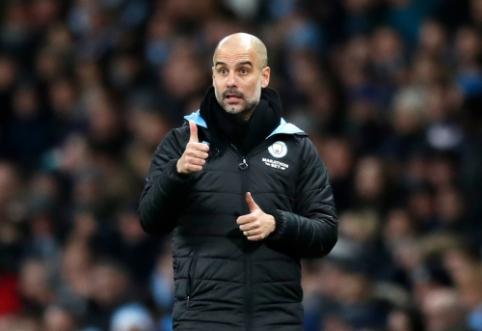 """P. Guardiolos pažadas: """"Jeigu """"Man City"""" manęs neatleis, liksiu klube"""""""