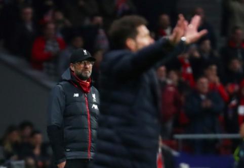 """Po pralaimėjimo Madride – """"Liverpool"""" atstovų žinutė """"Atletico"""" klubui"""