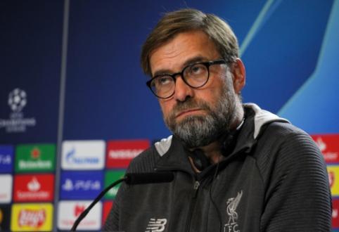 """J. Kloppas: """"Žaisti prieš """"Atletico"""" yra vienas sudėtingiausių dalykų futbolininko gyvenime"""""""