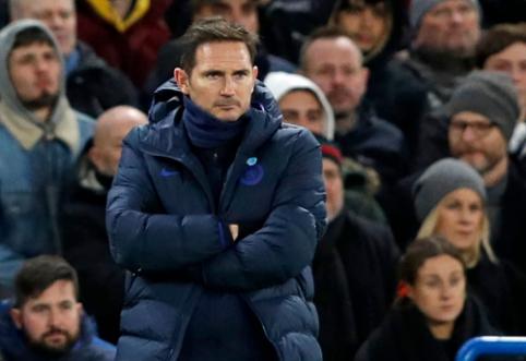 """F. Lampardas: """"Maguire'as turėjo būti pašalintas iš aikštės"""""""
