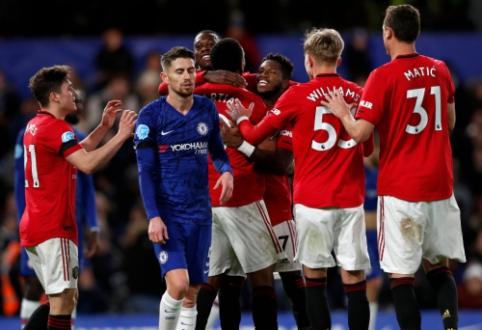 """""""Man Utd"""" trečią kartą šiame sezone įveikė """"Chelsea"""""""