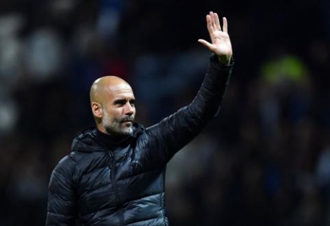 """P. Guardiola yra pasiruošęs likti prie """"Man City"""" vairo"""