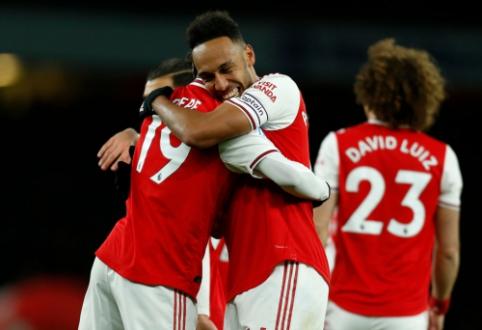 """Antrajame kėlinyje užsikūręs """"Arsenal"""" grįžo į pergalių kelią """"Premier"""" lygoje"""