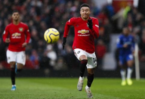 """""""Man Utd"""" klube dirbęs treneris J. Lingardą palygino su A. Iniesta"""