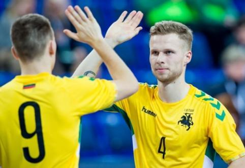 Futsal rinktinė atrankos barjerą įveikė su geriausiu savo rezultatu