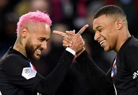 """""""Ligue 1"""": PSG sudaužė varžovus"""