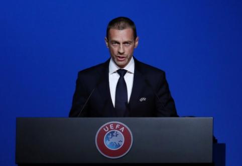 """""""The Athletic"""": UEFA už Europos čempionato perkėlimą reikalaus 300 mln. eurų"""