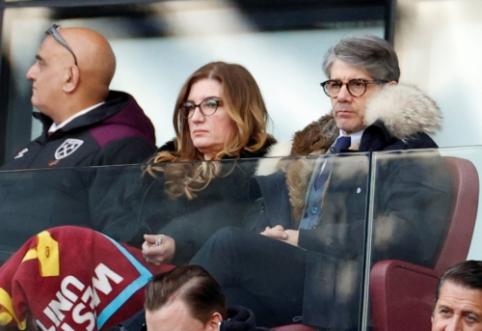 """""""West Ham"""" direktorė siūlo anuliuoti šio sezono rezultatus"""