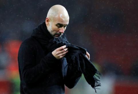 """P. Guardiola: """"Sužaidėme labai geras rungtynes"""""""