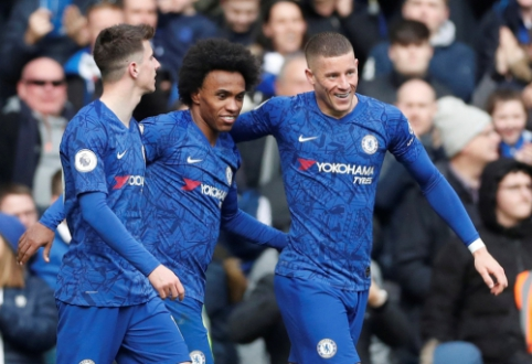 """""""Chelsea"""" savo aikštėje nepaliko šansų """"Everton"""" ekipai"""