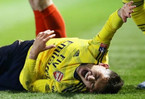"""Arsenal"" saugui L. Torreirai lūžo čiurna"